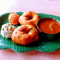 Photo taken at House of Dosas by Kimberley O. on 2/12/2012