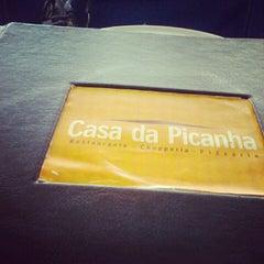 Photo taken at Casa da Picanha by Clara S. on 8/18/2012