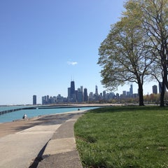 Photo taken at Chicago Lakefront by Derek K. on 4/8/2012