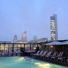 Photo taken at Shoreditch House by Gordon C. on 7/12/2012