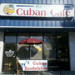 Photo taken at Rey's Cuban Cafe by Steven B. on 9/9/2011