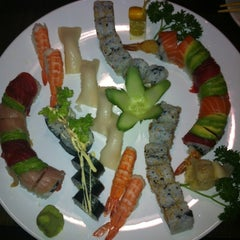 Photo taken at Thai Green & Sushi by Elliot P. on 6/21/2012