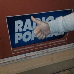 Photo taken at Rádio Popular by Carlos G. on 12/16/2011