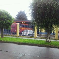 Photo taken at Terminal Buses Bio Bio Victoria by Ignacio C. on 3/4/2012