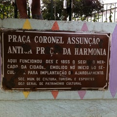 Photo taken at Praça da Harmonia by Marcelo A. on 5/4/2011