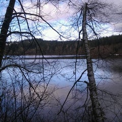 Photo taken at Lake Padden Park by Danielle S. on 1/14/2012