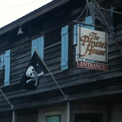 Photo taken at The Pirates' House by Basil M. on 8/10/2012