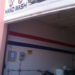Photo taken at High Street Car Wash by Daniel A. on 10/23/2011