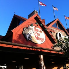 Photo taken at Bass Pro Shops by Jorge M. on 6/16/2012