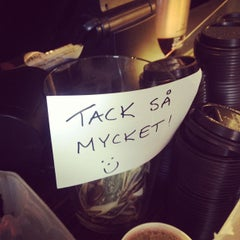 Photo taken at FIKA Espresso Bar by Darcie on 9/11/2012