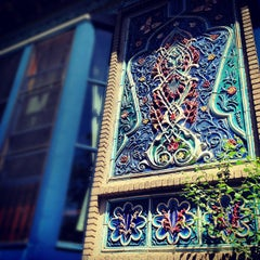 Photo taken at Dushanbe Teahouse by Casey H. on 6/4/2012