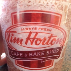 Photo taken at Tim Hortons / Cold Stone Creamery by Dennise W. on 3/10/2012