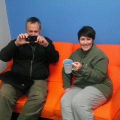 Photo taken at Dashter HQ by Kat M B. on 2/14/2012