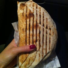 Photo taken at Donair Dude by Mina on 9/1/2012