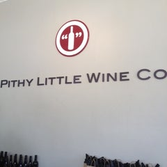 Photo taken at Pithy Little Wine Co. by WineWalkabout with Kiwi and Koala on 8/4/2012