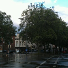 Photo taken at H Hansemannplatz by Tobias on 8/6/2012