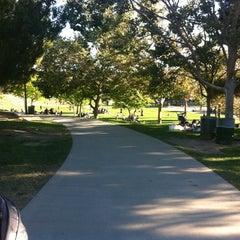 Photo taken at Pan Pacific Park by Bindi E. on 6/25/2012