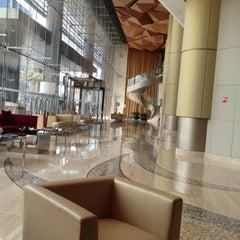 Photo taken at Kempinski Grand Hotel by Rawan M. on 3/16/2012