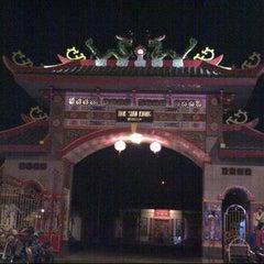 """Photo taken at Klenteng """"Hok Sian Kong"""", Mojokerto by Hasan I. on 8/28/2012"""
