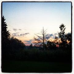Photo taken at Golf de la Faune by David P. on 8/27/2012