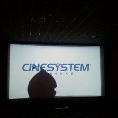 Photo taken at Cinesystem by Viviana C. on 4/15/2012