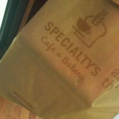 Photo taken at Specialty's Café & Bakery by Don B. on 2/13/2012
