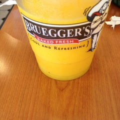 Photo taken at Bruegger's by Johnny D. on 9/6/2012
