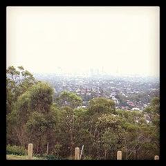 Photo taken at Mount Gravatt Lookout by George Z. on 4/4/2012