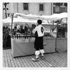 Photo taken at Plaza de Riego by Alejandro F. on 5/19/2012