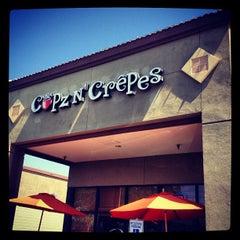 Photo taken at Cupz N'  Crepes by Jordan N. on 6/22/2012