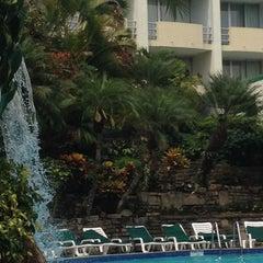 Photo taken at Hotel Sheraton Presidente San Salvador by Martha C. on 4/25/2012