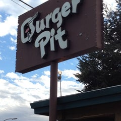 Photo taken at Burger Pit by Eric C. on 3/22/2012
