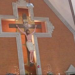 Photo taken at Gereja Katolik Redemptor Mundi by Maya P. on 9/2/2012