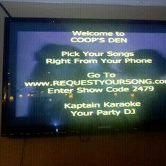 Photo taken at Coop's Den by Karen C. on 6/27/2012