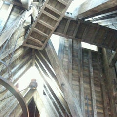 Photo taken at The Three Broomsticks by Melanie D. on 4/7/2012