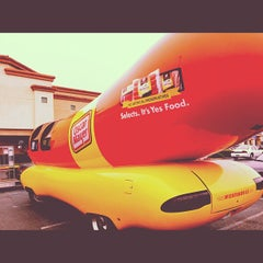 Photo taken at Mission Plaza by Aaron C. on 10/19/2012