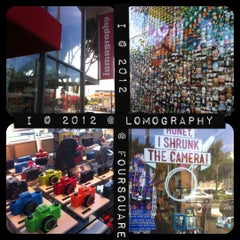 Photo taken at Lomography Gallery Store LA by 💕i /@yumyum.in.the.tumtum on 9/29/2012