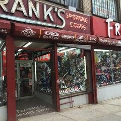 Photo taken at Frank's Sport Shop by Jamel on 4/2/2014