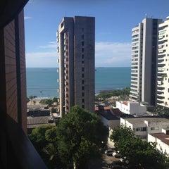 Photo taken at Spazzio Hotel Residence Fortaleza by Antonio de Pádua on 5/3/2013