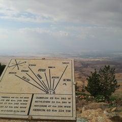 Photo taken at Mount Nebo جبل نيبو by Rafik O. on 2/2/2013