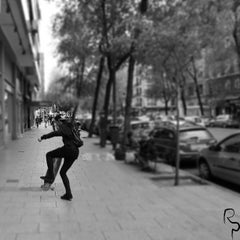 Photo taken at Madrid by Nico B. on 4/28/2013