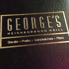 Photo taken at George's Neighborhood Grill by Chris R. on 12/18/2012