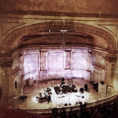 Photo taken at Carnegie Hall (Stern Auditorium/Perelman Stage) by Anthony C. on 3/8/2013
