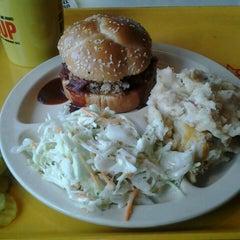 Photo taken at Dickey's BBQ by Meranda C. on 9/2/2013