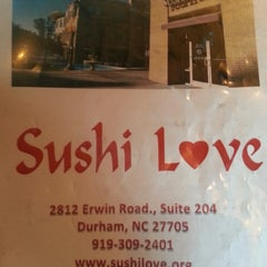Photo taken at Sushi Love by Michell W. on 6/27/2013