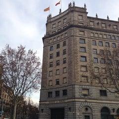 Photo taken at Banco de España by Eugene on 12/30/2013