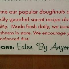 Photo taken at Krispy Kreme by J.Z on 3/4/2015