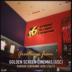 Photo taken at Golden Screen Cinemas (GSC) by Sariza N. on 1/26/2013