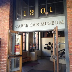 Photo taken at San Francisco Cable Car Museum by Mia S. on 6/23/2013