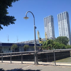 Photo taken at Puerto Madero by Alejandro D. on 12/1/2012
